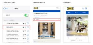 IKEA(イケア)のWiFiに繋ぐ方法:まとめ