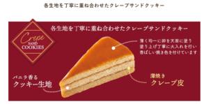 カサネオ②クレープサンドクッキー