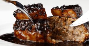 冷凍フレンチ食品のお取り寄せ:②ロッシーニ風ハンバーグ